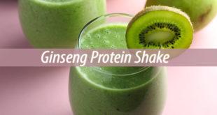 Ginseng Protein Shake