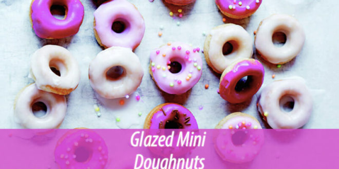 Glazed Mini Doughnuts