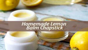 Lemon Balm Chapstick
