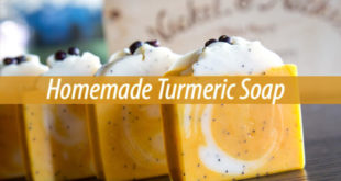 Homemade Turmeric Soap