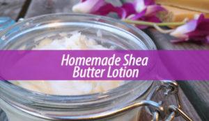 Homemade shea body butter