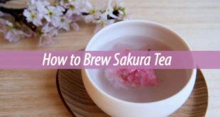 How to Brew Sakura Tea