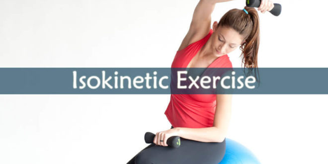 Isokinetic Exercise