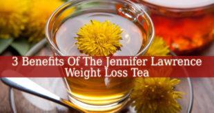 Jennifer Lawrence Weight Loss Tea
