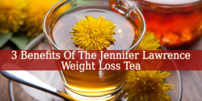 Jennifer Lawrence Weight Loss Tea