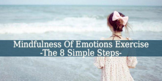 Mindfulness Of Emotions Exercise