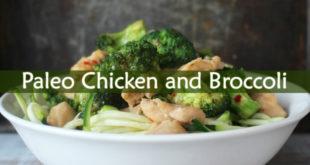 Paleo Chicken and Broccoli