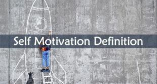Self Motivation Definition