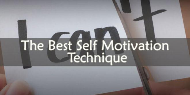 Self Motivation Technique