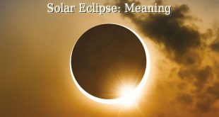 Solar Eclipse Meaning
