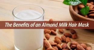 Almond milk Hair Mask