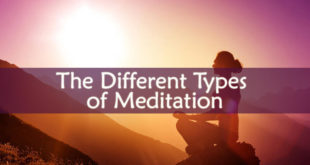 The Different Types of Meditation