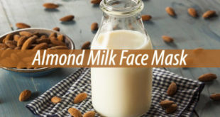 almond milk face mask