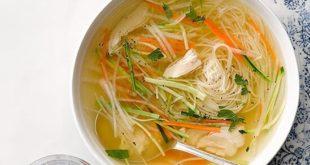angel hair chicken soup