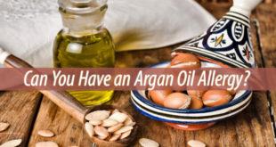 argan oil allergy