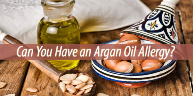 argan oil allergy