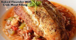 baked flounder