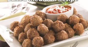 baked meatball recipe