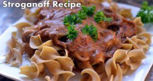 beef brisket stroganoff recipe