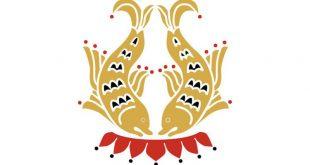 buddhist symbol the teo golden fish
