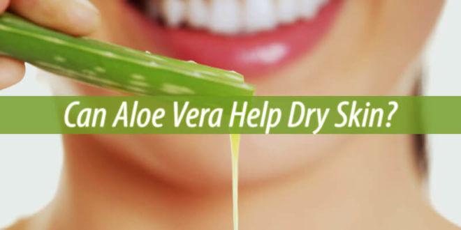 can aloe vera help dry skin