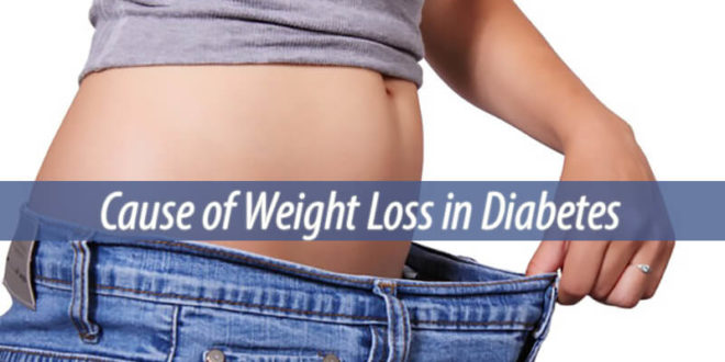 cause of weight loss in diabetes