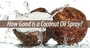coconut oil spray