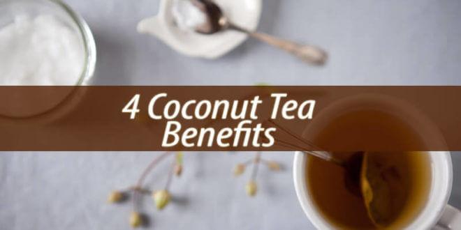 coconut tea benefits
