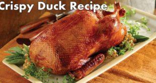 crispy duck recipe