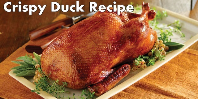 crispy duck recipe