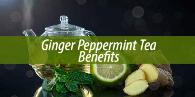 ginger peppermint tea