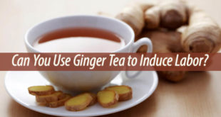 ginger tea to induce labor