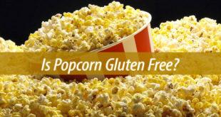 is popcorn gluten free