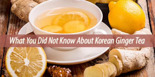 korean ginger tea