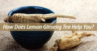 lemon ginseng tea