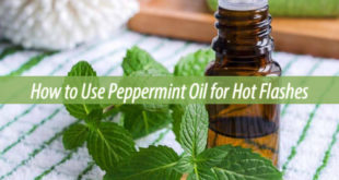 peppermint oil for hot flashes