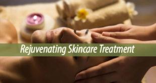 rejuvenating skincare treatment