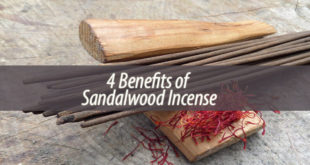 4 Benefits of Sandalwood Incense