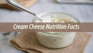 Cream Cheese Nutrition Facts