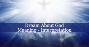 Dream About God Meaning