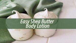 Easy Shea Butter Body Lotion