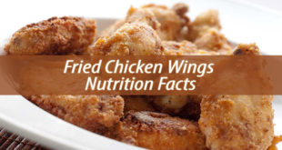 Fried Chicken Wings Nutrition Facts