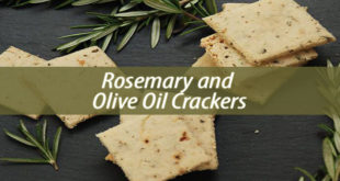 Rosemary and Olive Oil Crackers