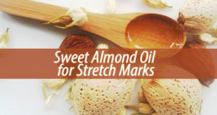 Sweet Almond Oil for Stretch Marks
