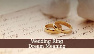 Wedding Ring Dream Meaning