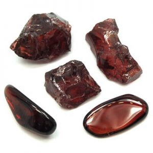 cristais de granada
