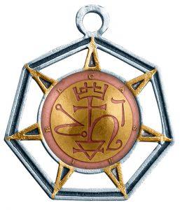 Kafziel cassiel angel signature amulette